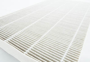 Air purifier filter replacement.